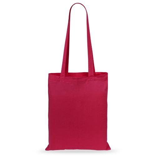 Bolsa algodón color roja