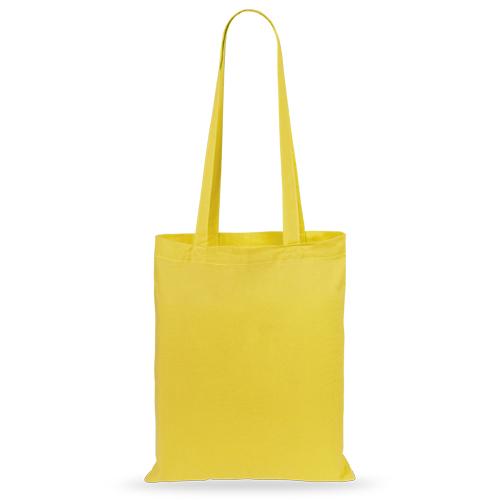 Bolsa algodón color amarillo