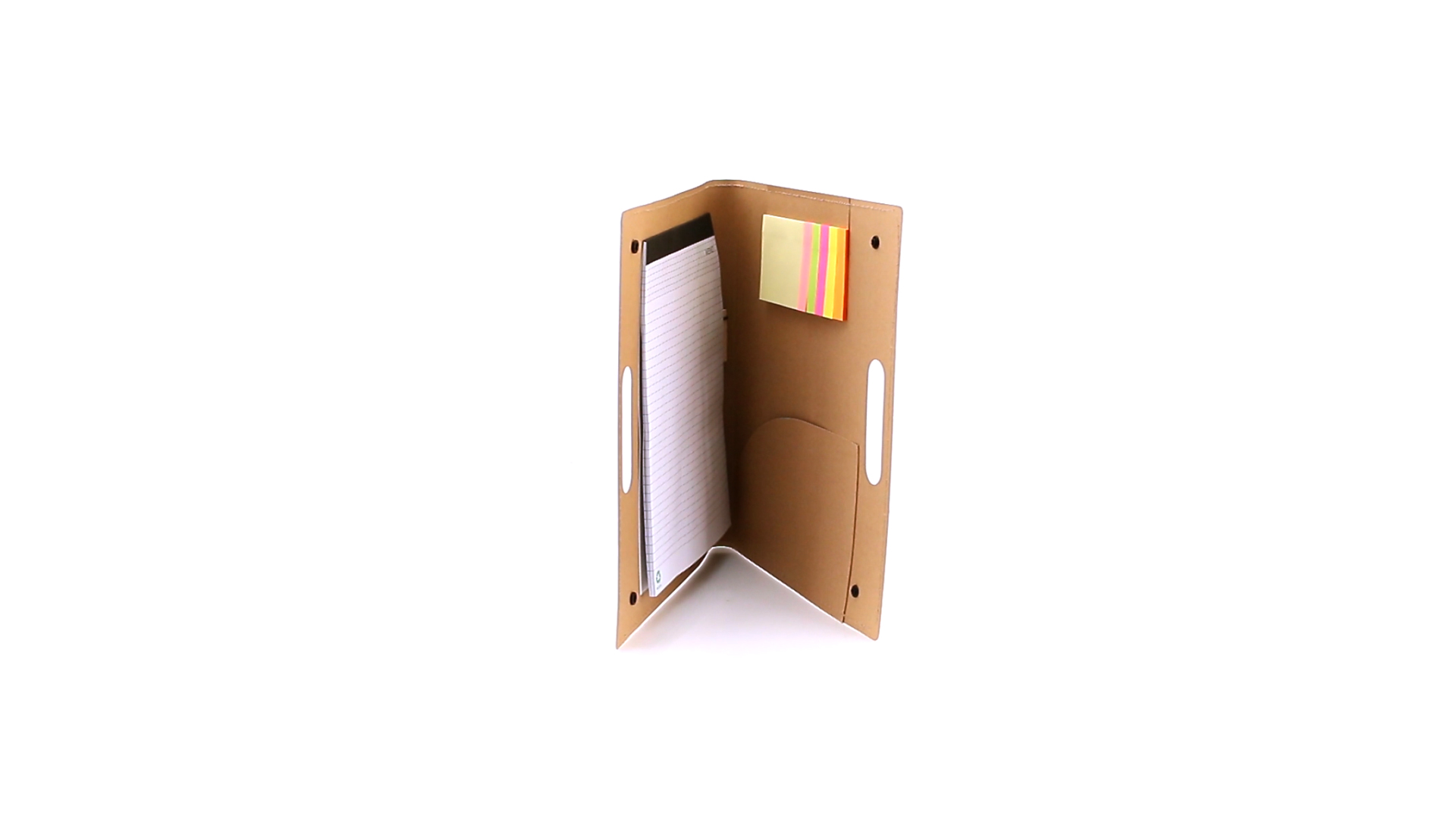 Carpeta cartón reciclado múltiple interior