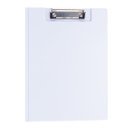 Carpeta Pvc con clik blanco