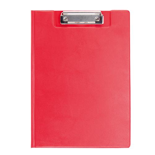 Carpeta Pvc con clik rojo