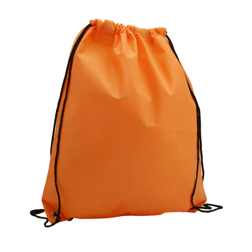 Mochila plana non woven naranja