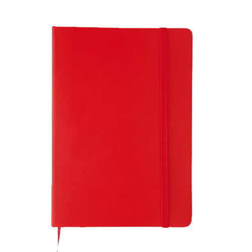 Bloc notas Polipiel roja