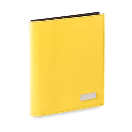 Carpeta polipiel amarilla