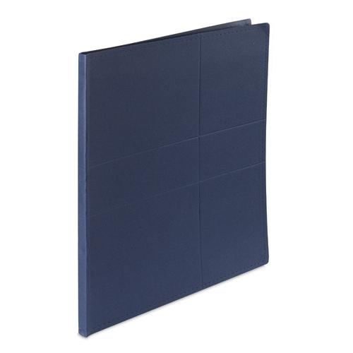 Carpeta cartón reciclado color azul