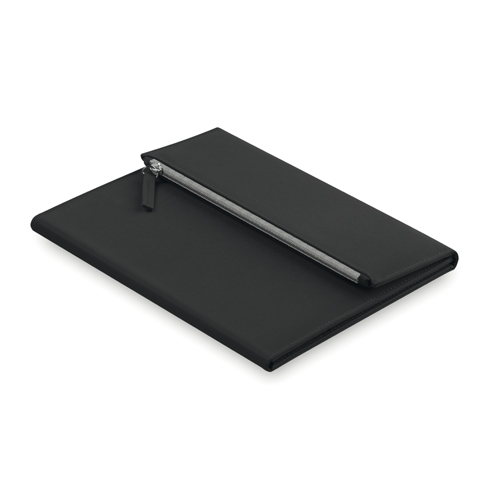 Carpeta microfibra con estuche negra