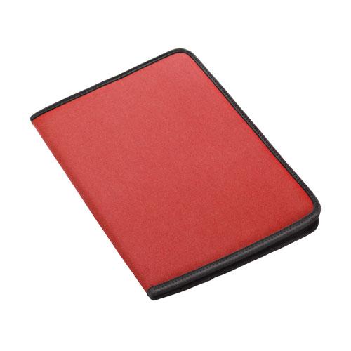 Carpeta poliéster rojo