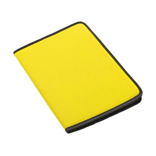 Carpeta poliéster amarilla