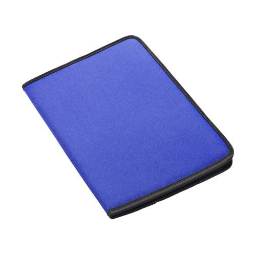 Carpeta poliéster  azul royal