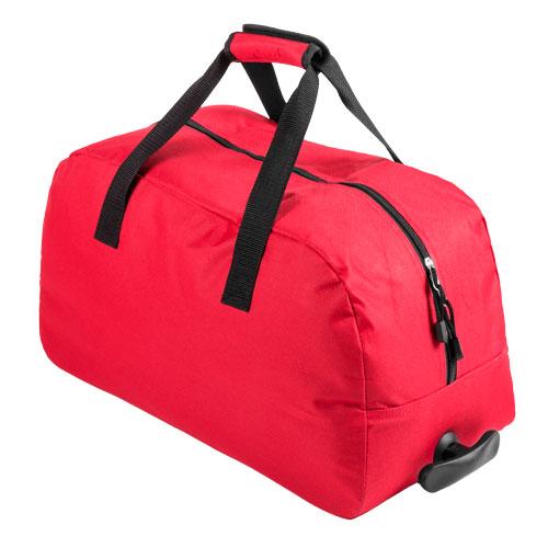 Bolso Trolley rojo