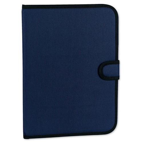 Carpeta poliéster con broche azul