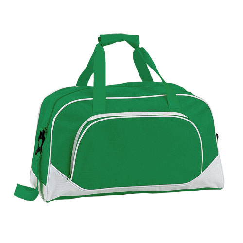 Bolso de poliéster verde