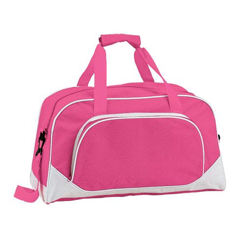 Bolso de poliéster rosa