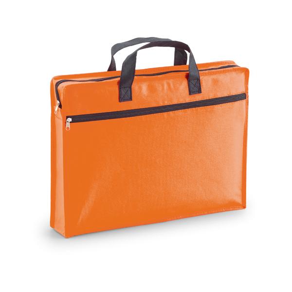 Maletín portadocumentos non woven naranja