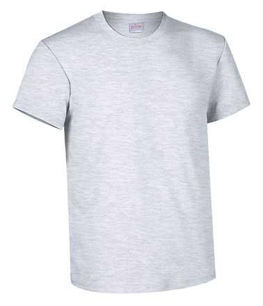 Camiseta de Algodón 135grs. color gris vigore