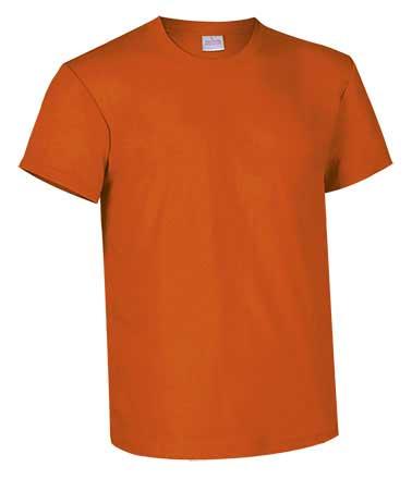 Camiseta de Algodón 135grs. color naranja