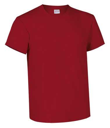 Camiseta de Algodón 135grs. color rojo