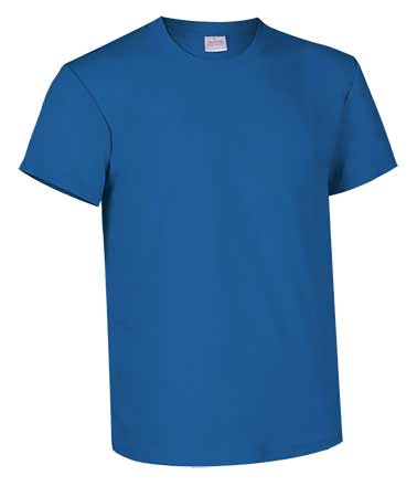Camiseta de Algodón 135grs. color azul royal