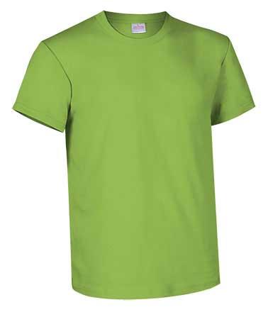 Camiseta de Algodón 135grs. color verde manzana