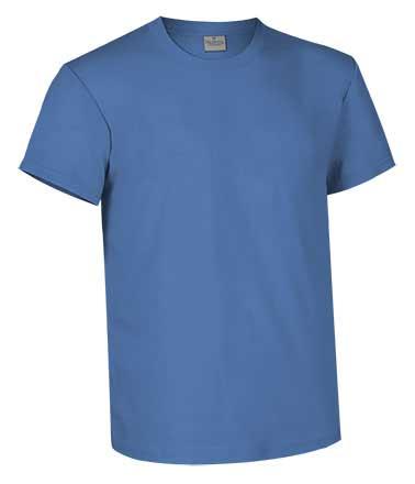 Camiseta de Algodón 160 grs. color  azul ciudad