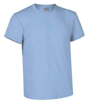 Camiseta de Algodón 160 grs. color  celeste