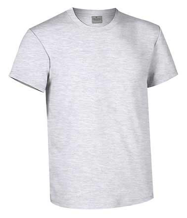 Camiseta de Algodón 160 grs. color  gris vigore