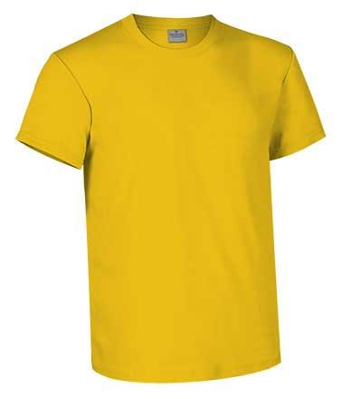 Camiseta de Algodón 160 grs. color  amarillo girasol