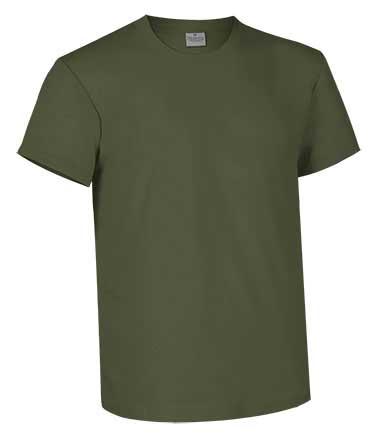 Camiseta de Algodón 160 grs. color  caqui
