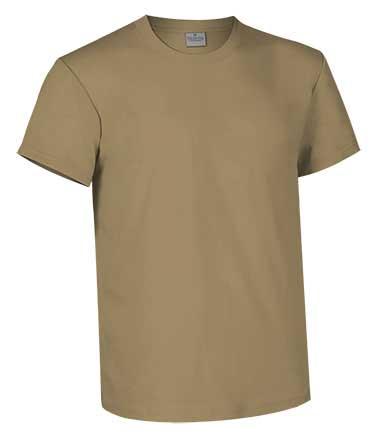 Camiseta de Algodón 160 grs. color  kamel