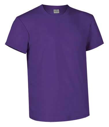 Camiseta de Algodón 160 grs. color  morado