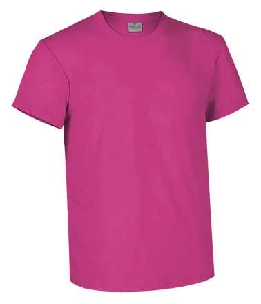 Camiseta de Algodón 160 grs. color  magenta