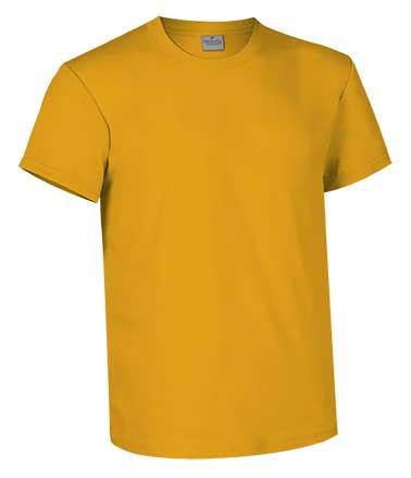 Camiseta de Algodón 160 grs. color mostaza