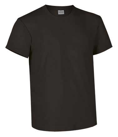 Camiseta de Algodón 160 grs. color  negro