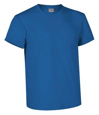 Camiseta de Algodón 160 grs. color  azul royal