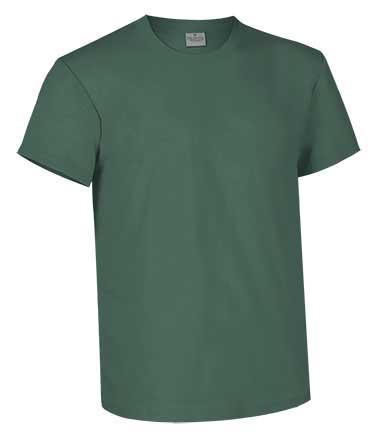 Camiseta de Algodón 160 grs. color  verde musgo