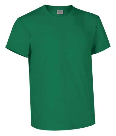 Camiseta de Algodón 160 grs. color verde kelly