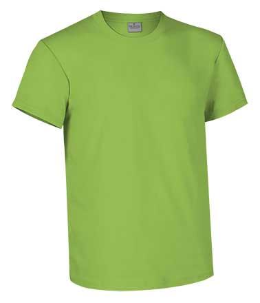 Camiseta de Algodón 160 grs. color verde manzana