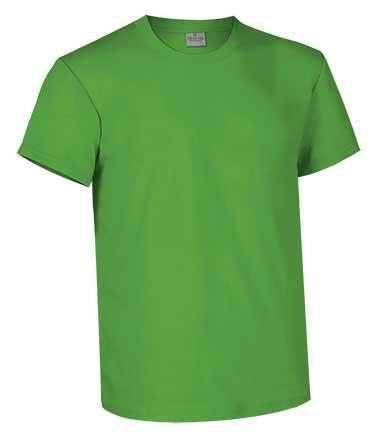 Camiseta de Algodón 160 grs. color verde primavera