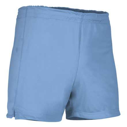 Pantalón corto deportivo celeste