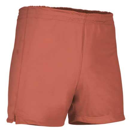 Pantalón corto deportivo naranja fluor