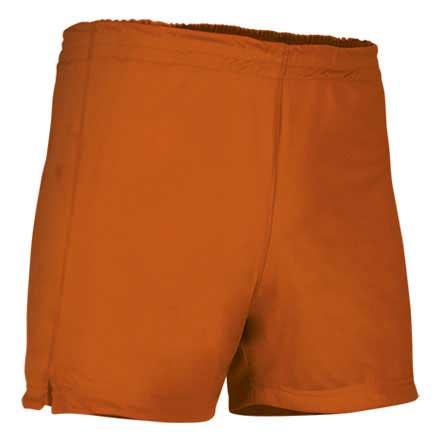Pantalón corto deportivo naranja