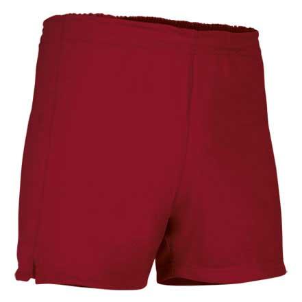 Pantalón corto deportivo rojo