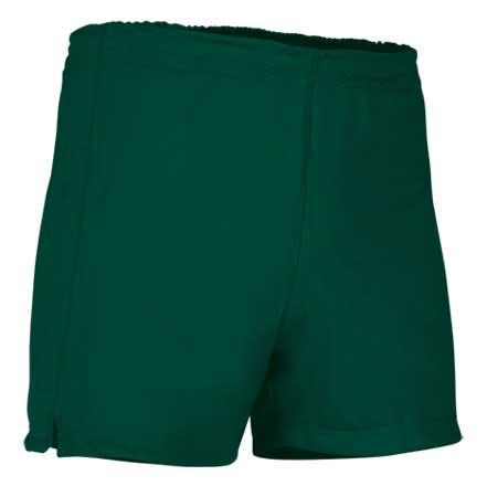 Pantalón corto deportivo verde botella