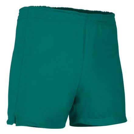 Pantalón corto deportivo verde hierba