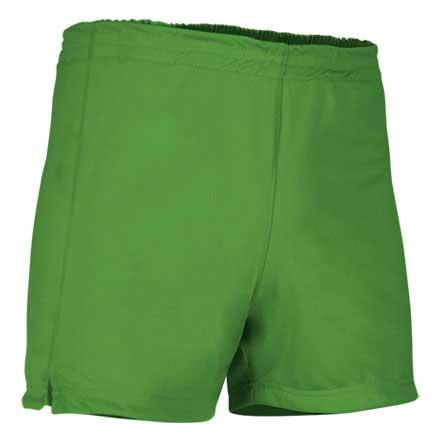 Pantalón corto deportivo verde primavera
