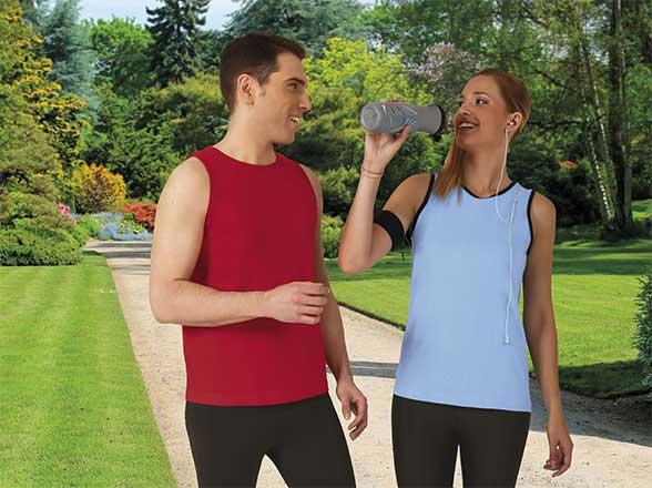 Camiseta de Algodón sin mangas unisex
