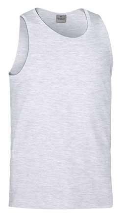 Camiseta de Algodón sin mangas unisex gris