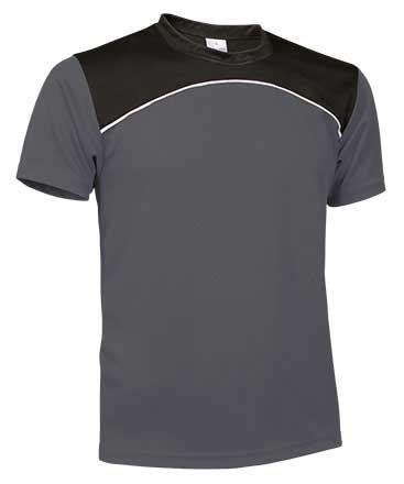 Camiseta Técnica tricolor  gris
