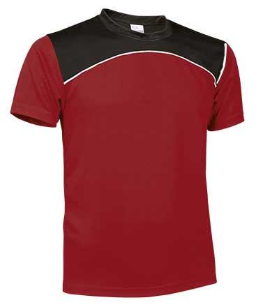 Camiseta Técnica tricolor roja