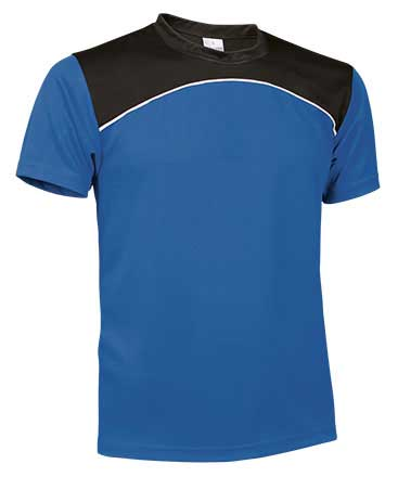 Camiseta Técnica tricolor azul royal